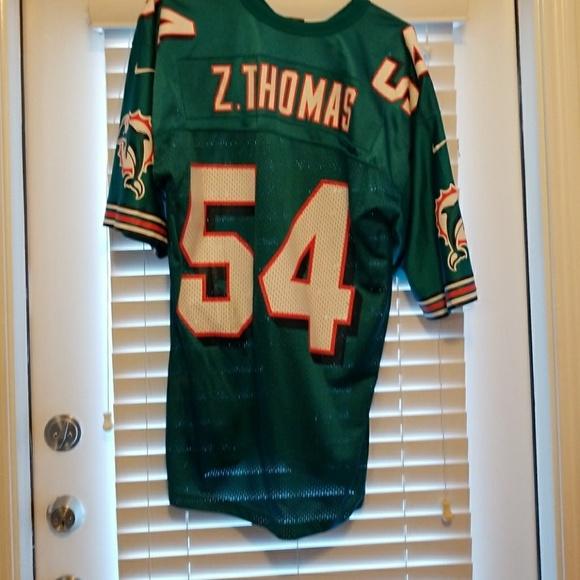 best loved 77e86 a994d Dolphin jersy Zach Thomas
